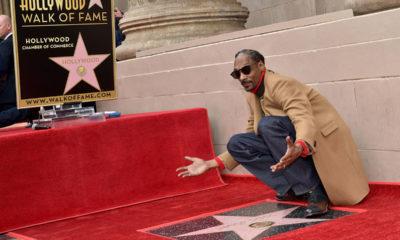 Snoop Dogg Receives Hollywood Star