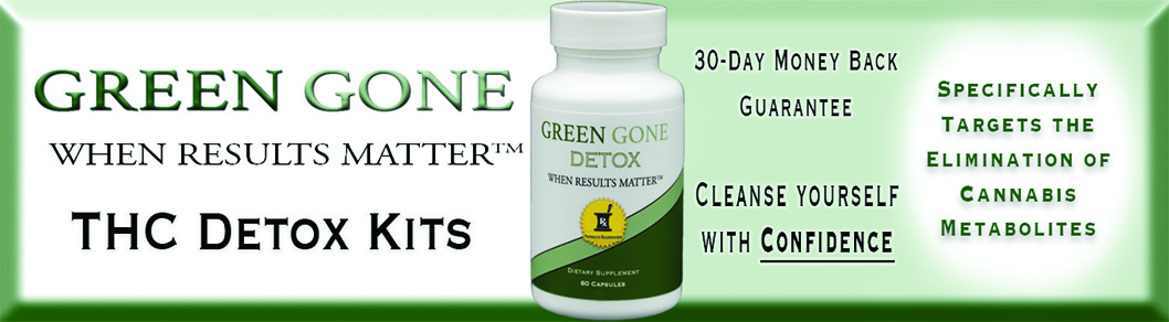 Green Gone THC Detox Kits